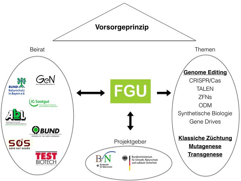 Übersicht Diagramm FGU